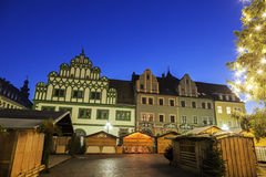 Marktplatz in the morning Royalty Free Stock Image