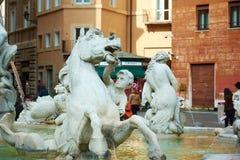Marktplatz Navona Stockbilder