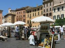 Marktplatz Navona, Rom Lizenzfreie Stockfotos