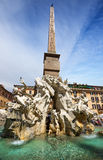 Marktplatz Navona, Rom. Italien Stockbilder
