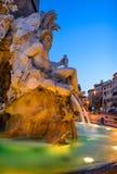 Marktplatz Navona, Rom, Italien stockbilder