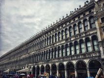 Marktplatz San Marco stockfotos