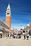 Marktplatz San Marco Stockbilder