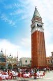 Marktplatz San Marco, Venedig Lizenzfreies Stockfoto