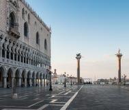 Marktplatz San Marco in Venedig, Italien Lizenzfreies Stockfoto