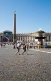 Marktplatz San Pietro Stockfotografie