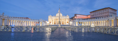 Marktplatz San Pietro, Vatikan, Rom, Italien Lizenzfreies Stockfoto
