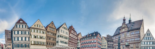 Marktplatz in Tubingen, Deutschland Stockbild