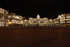 Marktplatz-UNITA, Triest, Italien Lizenzfreie Stockbilder