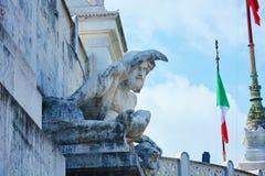 Marktplatz Venezia Rom Lizenzfreies Stockbild