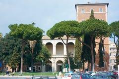 Marktplatz Venezia Rom Lizenzfreie Stockbilder