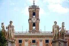 Marktplatz Venezia Rom Lizenzfreie Stockfotografie