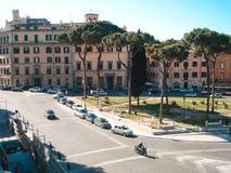 Marktplatz Venezia, Rom Lizenzfreie Stockfotos