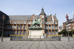 Marktplatz w Dusseldorf, Niemcy Fotografia Stock