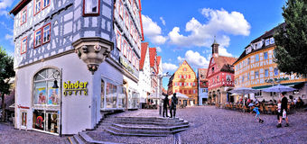 MarktPlatz Waiblingen Imagen de archivo libre de regalías