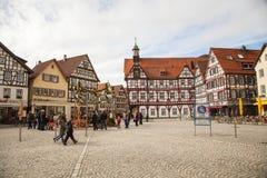 Marktplatzvierkant Royalty-vrije Stock Afbeeldingen