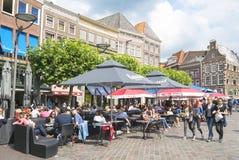 Marktplein遇见了土地兹沃勒 免版税库存照片