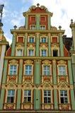 Marktquadrat Wroclaw Polen Stockbild