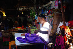 Marktscène, India Stock Fotografie