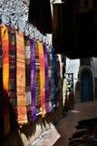 Marktstraße im Medina Stockbilder