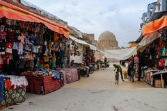 Marktstraat in Isphahan, Iran royalty-vrije stock foto's