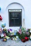 Markttent voor Emanuel A M e Kerk, Charleston, Sc Stock Afbeeldingen