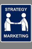 Marktvereinbarung Lizenzfreies Stockbild