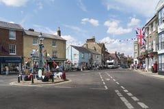 Marktvierkant, Southwold, het UK royalty-vrije stock fotografie
