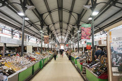 Marktzaal in Loule Royalty-vrije Stock Afbeelding