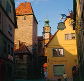 Markus Tower, Rothenburg Royalty Free Stock Photos