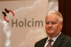 Markus Wirth. CEO Holcim Romania Stock Photography