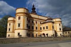 Markusovce城堡,斯洛伐克 免版税图库摄影