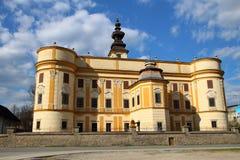 Markusovce城堡,斯洛伐克 库存照片