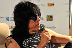 Marky Ramone Grammy Award musician during a press conference Stock Photography