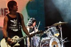 Marky Ramones Blitzkrieg - BG BeerFest 2011. Stockbilder