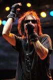 Marky Ramones Blitzkrieg von USA während eines Livekonzerts Lizenzfreie Stockfotografie