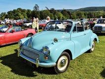 Marlay公园汽车怎么 蓝色汽车葡萄酒 免版税图库摄影