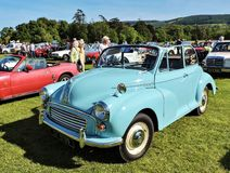 Marlay Park Autos-show. Blue vintage car. Royalty Free Stock Photography