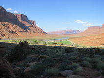 Marlboro Country. Area known as Marlboro Country in the Colorado River Gorge, Moab, Utah, USA Stock Images