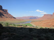 Marlboro Country. Area known as Marlboro Country in the Colorado River Gorge, Moab, Utah, USA Stock Photo