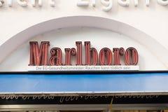 Marlboro-Neon Lizenzfreie Stockfotos