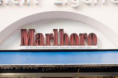 Marlboro neon Royalty Free Stock Photos