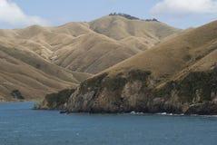 Marlborough听起来新西兰 免版税库存照片