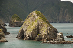 Marlborough声音-新西兰 免版税图库摄影