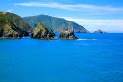 Marlborough Sound, New Zealand Stock Photo