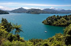 Marlborough Sounds Stock Photo