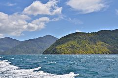 Marlborough Sounds Royalty Free Stock Photography