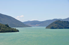 Marlborough Sounds, New Zealand Royalty Free Stock Photos