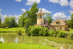 The Marlborough Tower and pond Stock Image