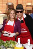 Marlee Matlin, Robert Davi. Marlee Matlin and Robert Davi  at the Hollywood Chamber Of Commerce 17th Annual Police And Fire BBQ, Private Location, Hollywood, CA Stock Image